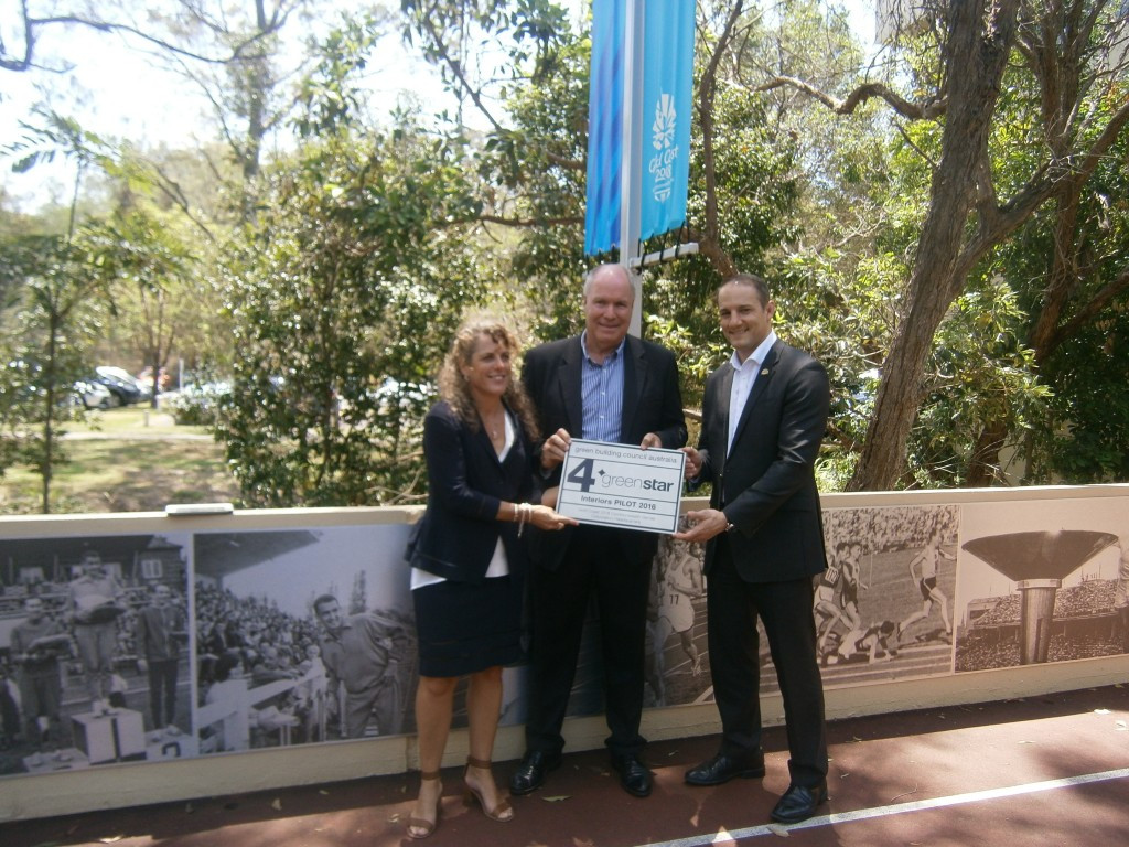 Gold Coast 2018 headquarters earn sustainability award