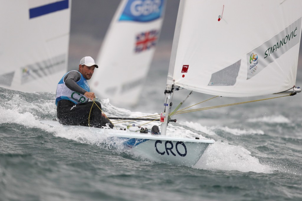 Olympic laser silver medallist among three joint leaders at Sailing World Cup Final