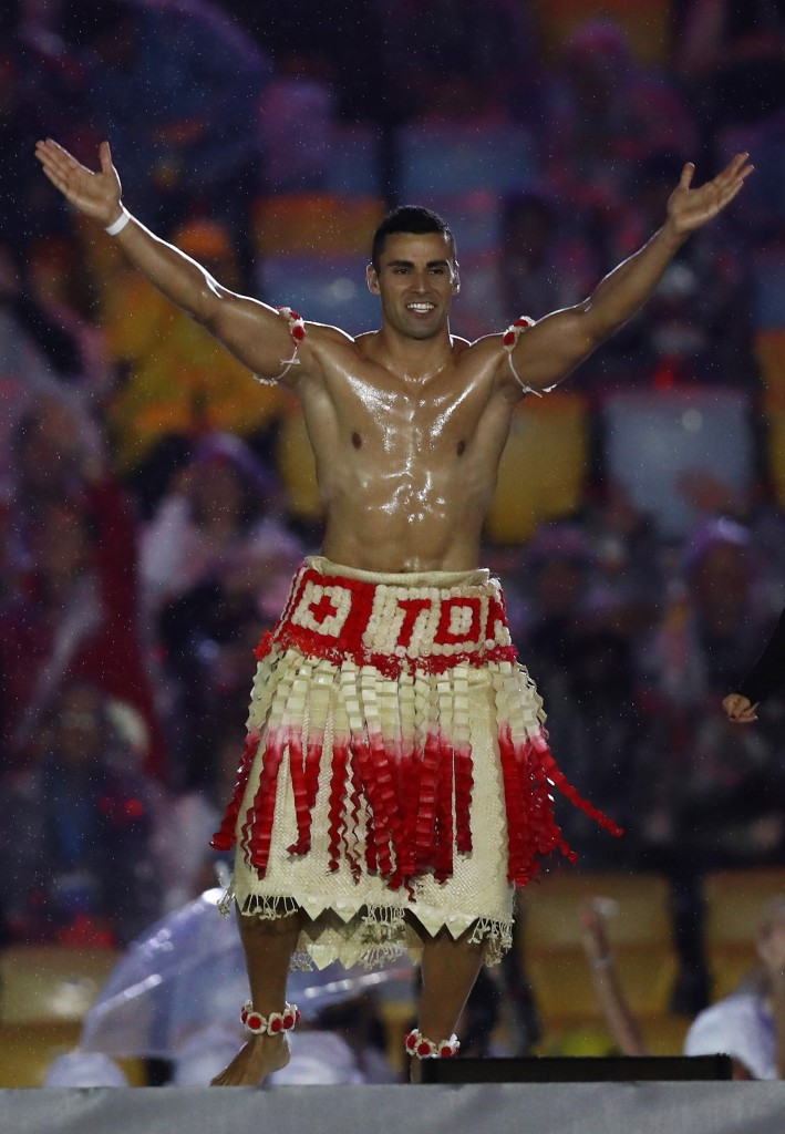 Pita Taufatofua wants to swap the oil for the slopes ©Getty Images