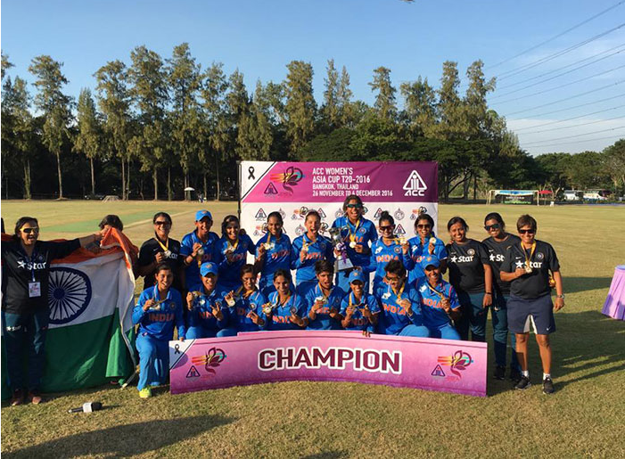India claim sixth consecutive Asia Twenty20 Cup title after beating Pakistan in final