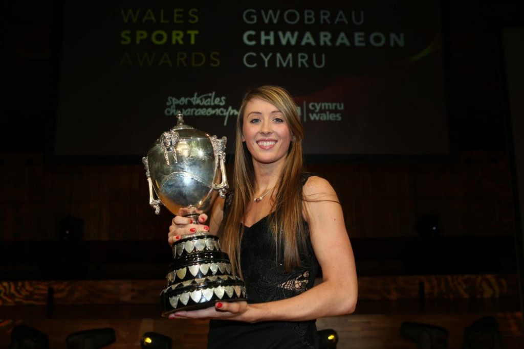 Taekwondo gold medallist Jones wins Welsh Sports Personality of the Year award