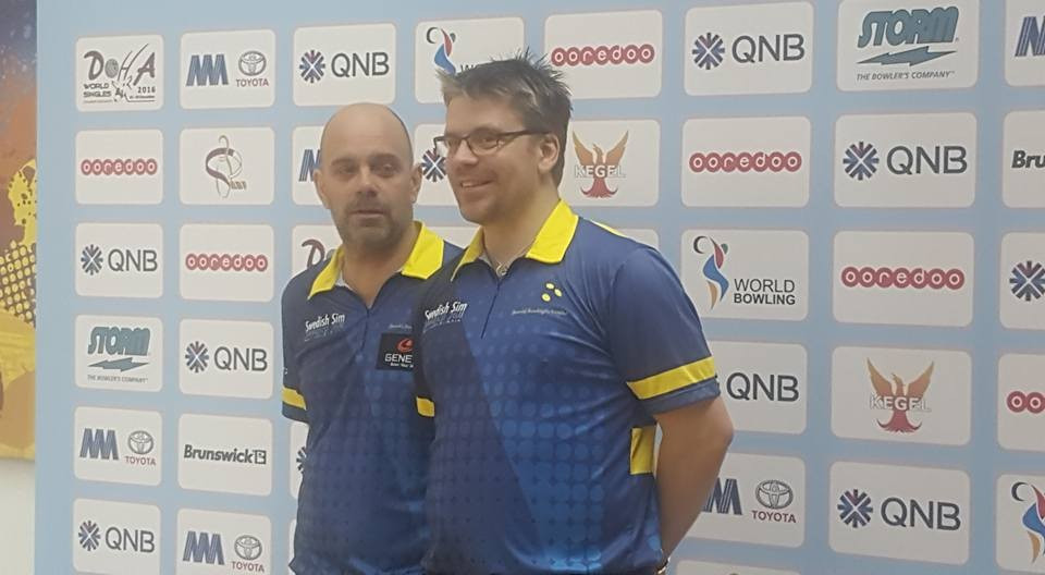 Hellstrom leads Swedish 1-2 at World Bowling Singles Championships