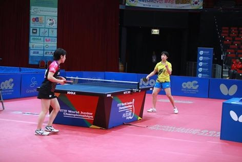Top seed Hirano beaten in quarter-finals of ITTF World Junior Championships