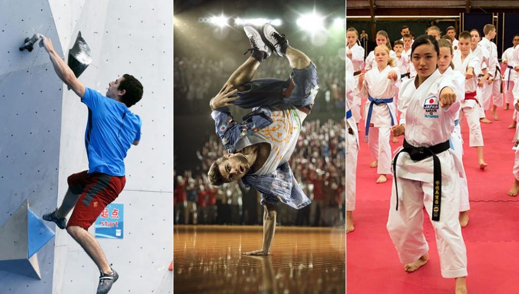 Sport climbing, break dancing and karate should all feature at Buenos Aires 2018 ©IOC