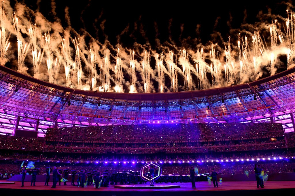 Baku 2015 Closing Ceremony ©Getty Images