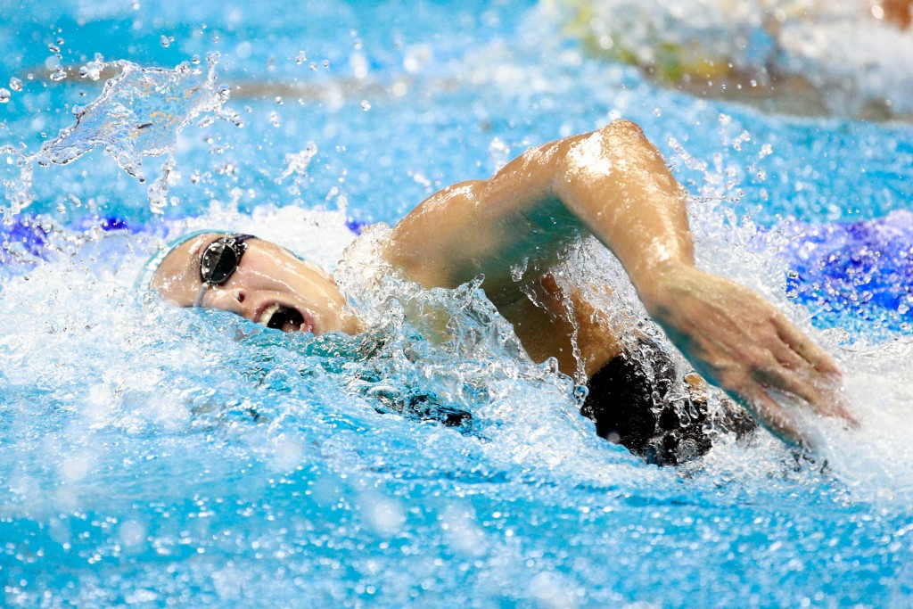 Federica Pellegrini earned women's 200 metres freestyle gold in Windsor ©Getty Images