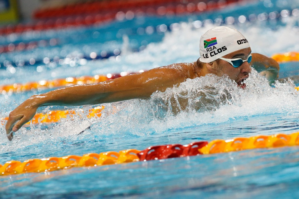 Chad le Clos defended his men's 200m butterfly title ©Getty Images