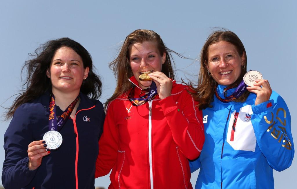 Denmark's Simone Christensen led from start to finish in the women's BMX final
