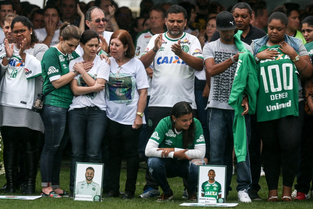 Head of airline involved in Chapecoense crash detained for questioning as investigation continues