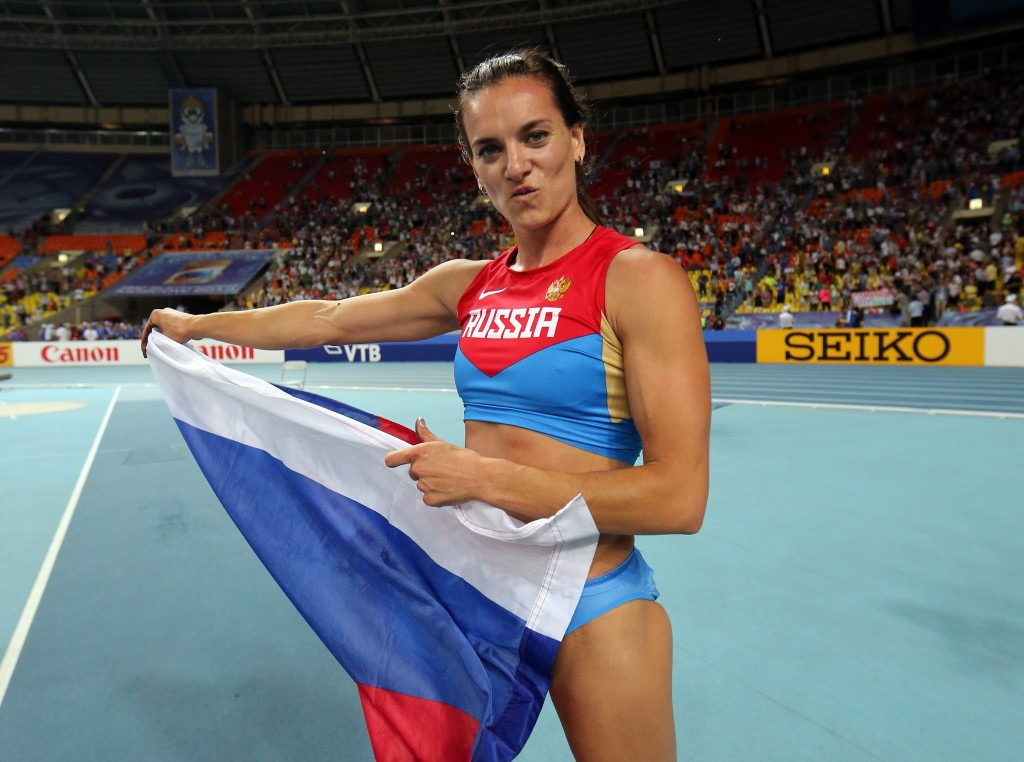 Yelena Isinbayeva has taken over at a critical time for Russian sport ©Getty Images
