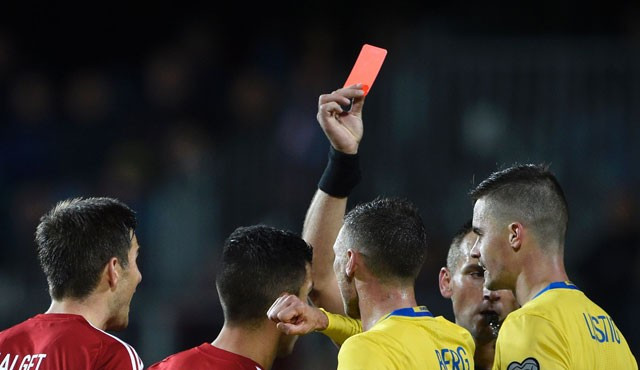 Cricket umpires could be given the power to send players off the field after the sport's law makers recommended introducing a red card system ©MCC