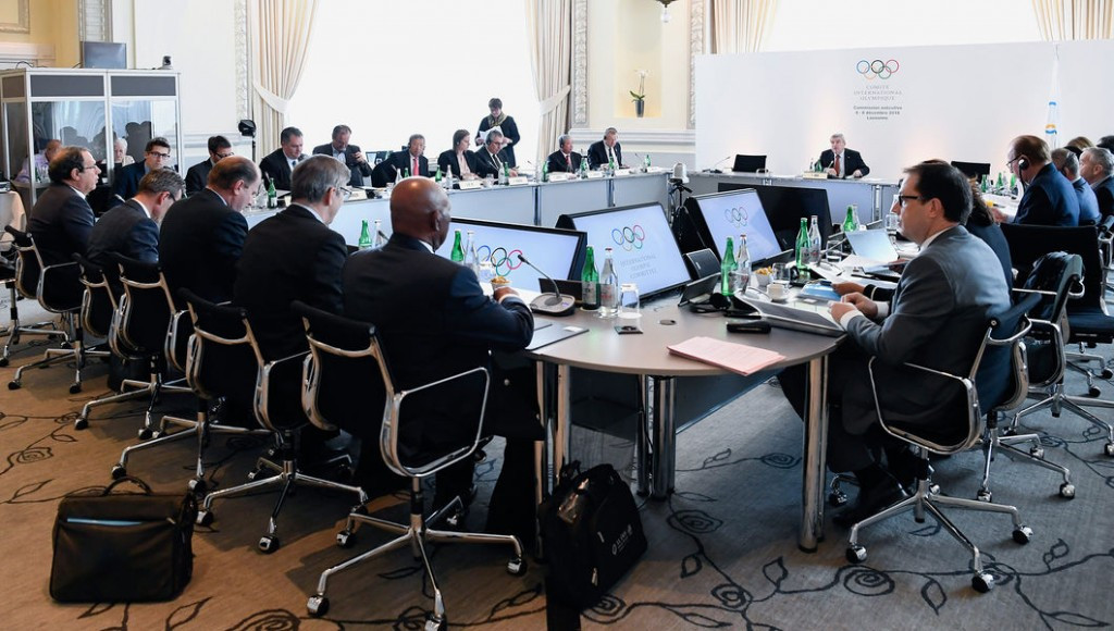 The McLaren Report is due to be published the day after the IOC Executive Board meeting finishes here ©IOC
