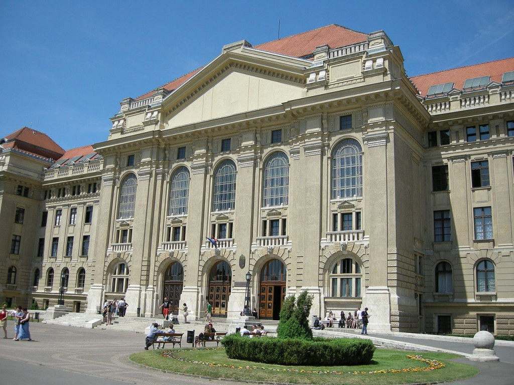 The University of Debrecen has given its public support to the Budapest 2024 Olympic Games bid ©Wikipedia