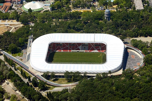 If Budapest 2024 are successful the Nagyerdei Stadion in Debrecen would host football preliminary matches ©Wikipedia