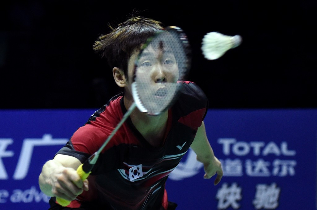 Top men's seed through on home soil at BWF Korea Masters