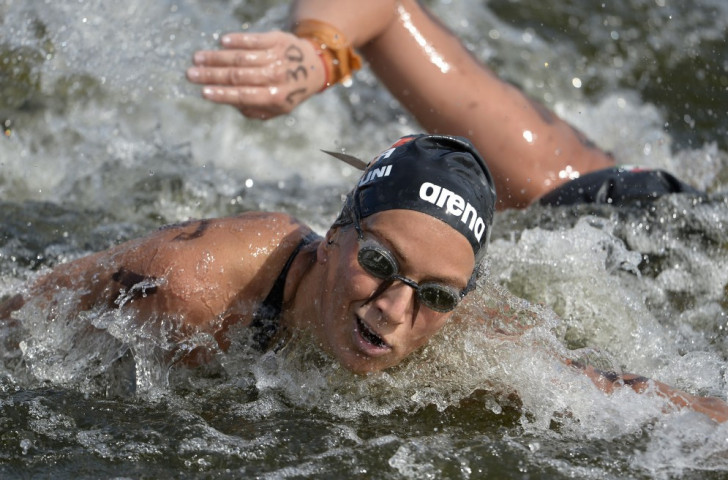 Italy's Rachele Bruni achieved her third victory of the season