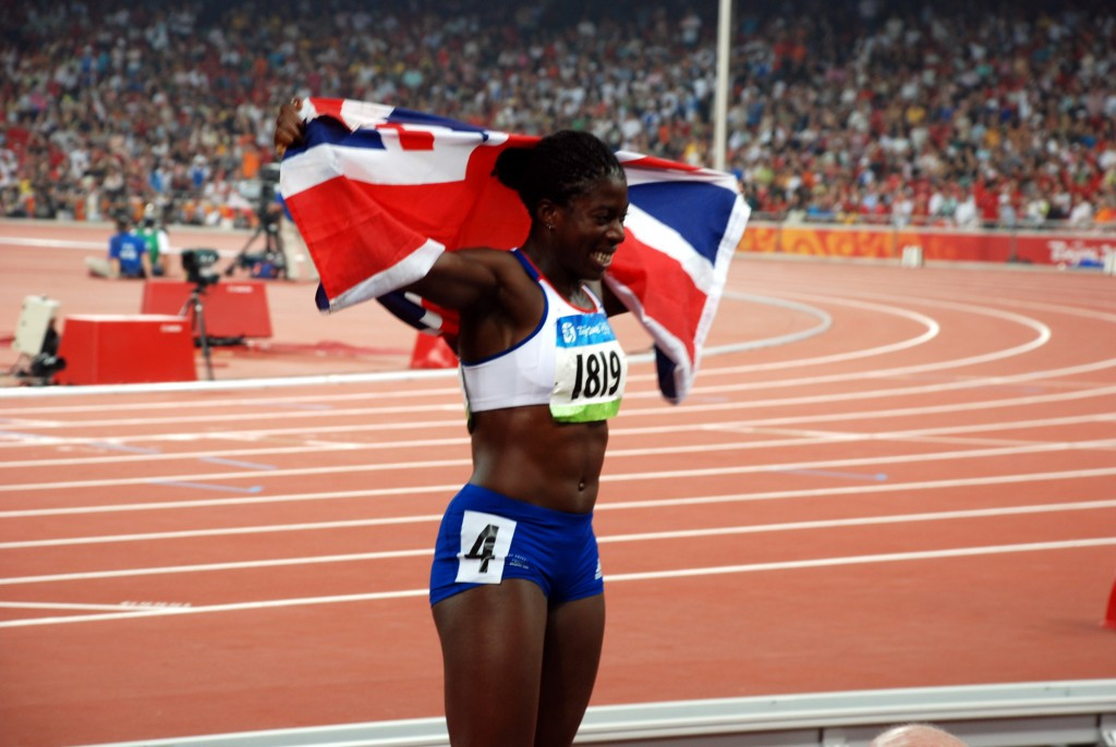 Christine Ohuruogu won Britain's only track and field Olympic gold at Beijing 2008, in the 400m ©Getty Images