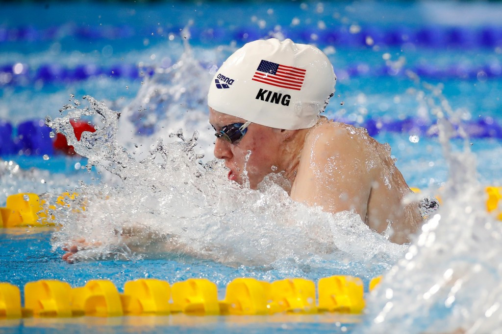 King earns quickfire double gold at FINA World Short Course Championships