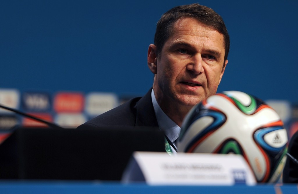 Mutschke leaves role as FIFA director of security