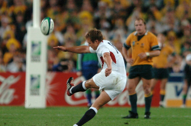 A special gold design ticket has been developed for the final and features Jonny Wilkinson's dramatic drop goal in the 2003 Rugby World Cup final