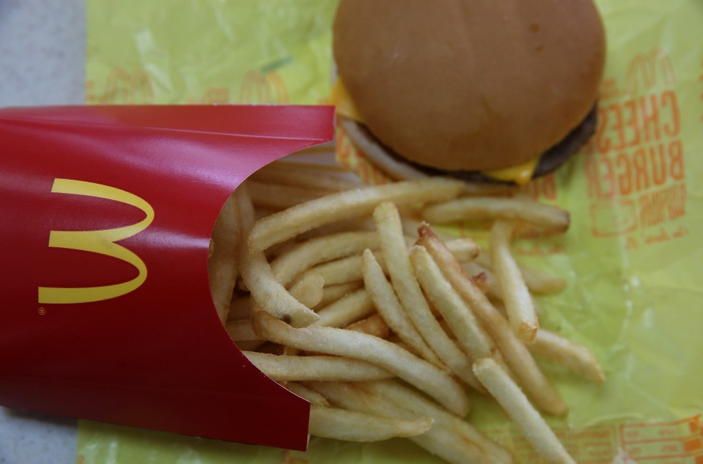 McDonald's are one of the Olympic TOP sponsors ©Getty Images
