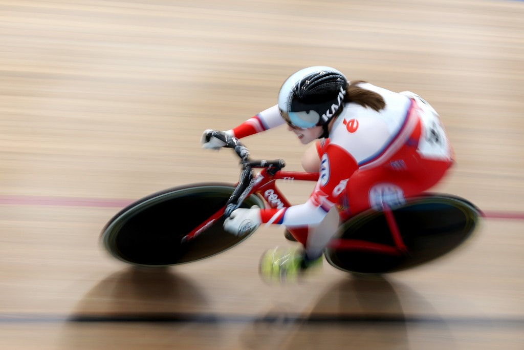 Australian Holly Takos continued her rise to stardom as she won a thrilling keirin event at the Oceania Track Cycling Championships ©Getty Images