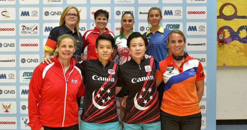 The top 32 women have also been trimmed down to eight ©Terrance Yaw/Asian Bowling Federation
