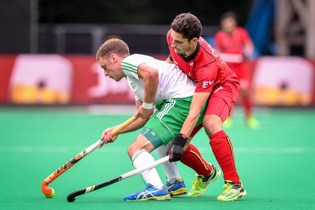 Ireland will face world champions Australia after falling to defeat in their final pool match ©AFP/Getty Images