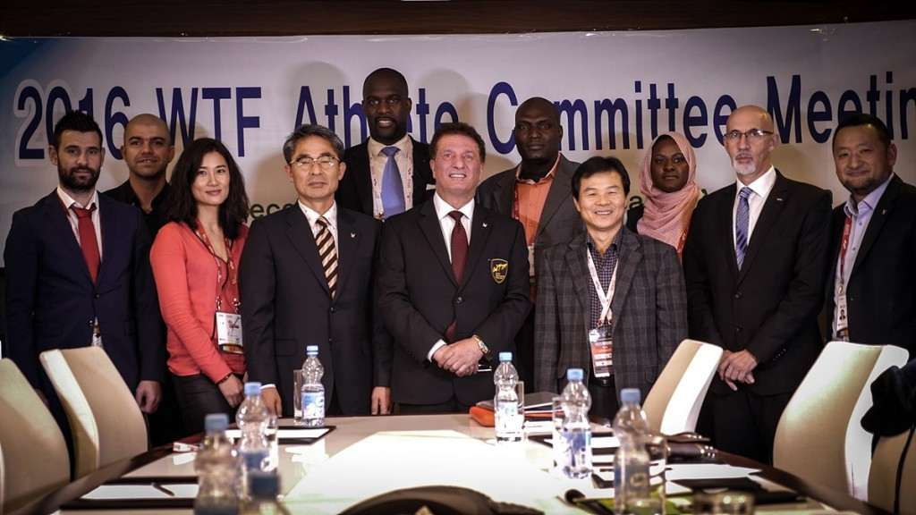 WTF marks relaunch of Athletes' Committee with meeting in Baku