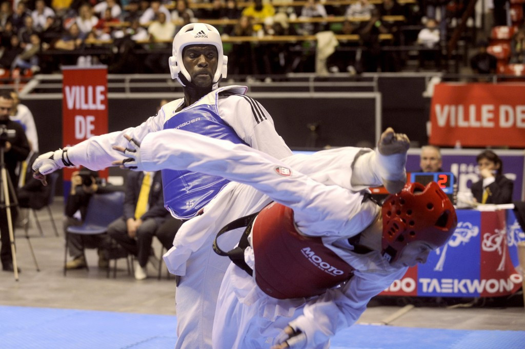 The Athletes' Committee meeting was chaired by former taekwondo player Pascal Gentil of France ©Getty Images