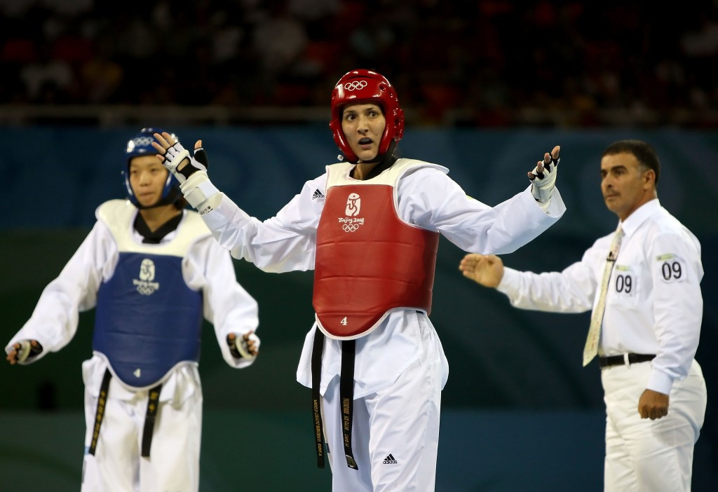 Taekwondo was plagued by scoring issues at the Beijing 2008 Olympics with the result of the heavyweight quarter-final between China's Chen Zhong and Great Britain's Sarah Stevenson being overturned in the latter's favour ©Getty Images