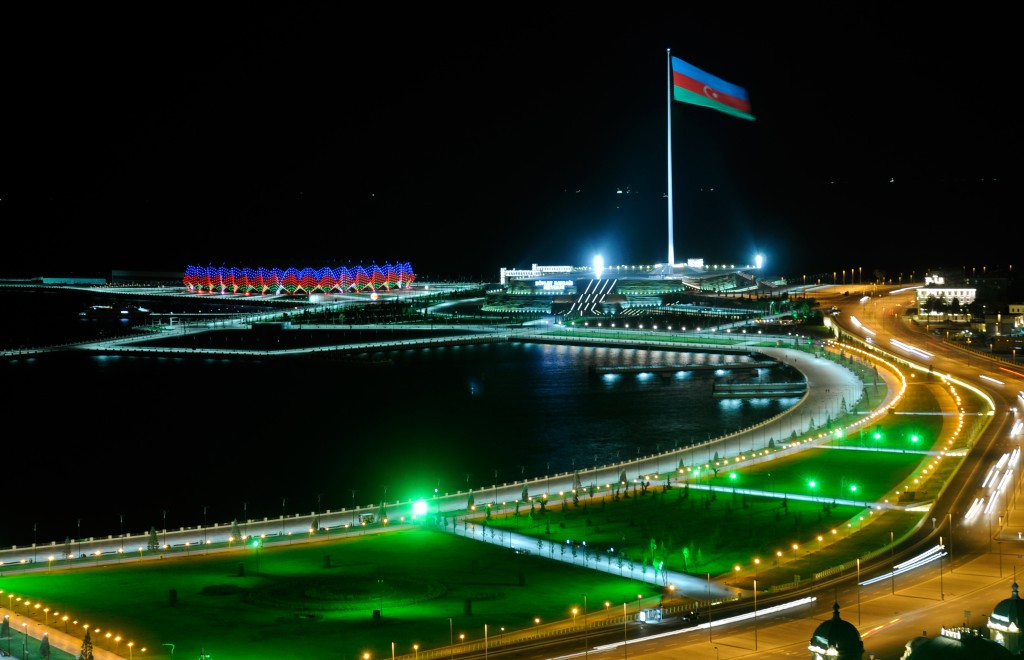There is no doubt that Baku is a picturesque and visually striking city ©AFP/Getty Images