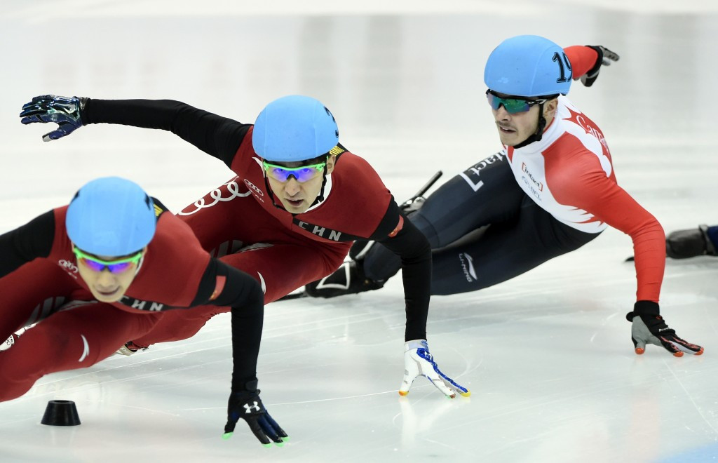 Home favourite Wu performs strongly in qualification at ISU Short Track World Cup in Shanghai