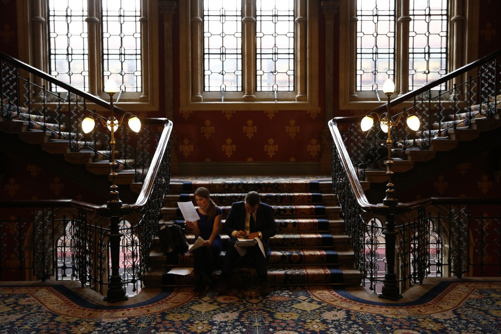 Richard McLaren revealed the damning second part of his report at the St Pancras. Renaissance London Hotel ©Getty Images