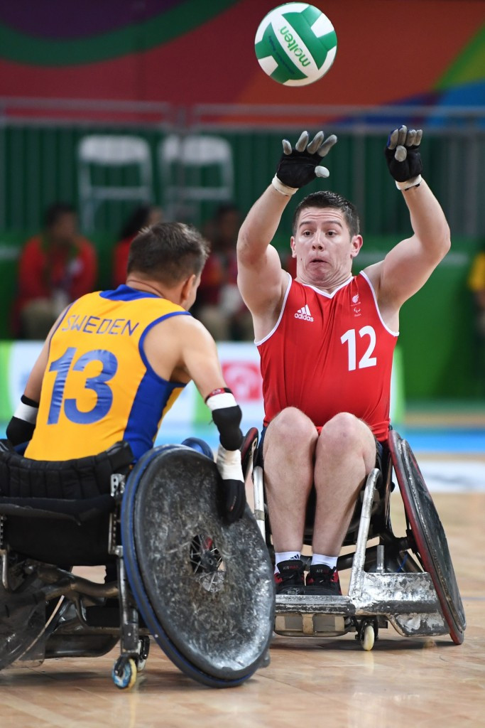 Great Britain's wheelchair rugby team have had their funding cut for the Tokyo 2020 Paralympic cycle ©Getty Images