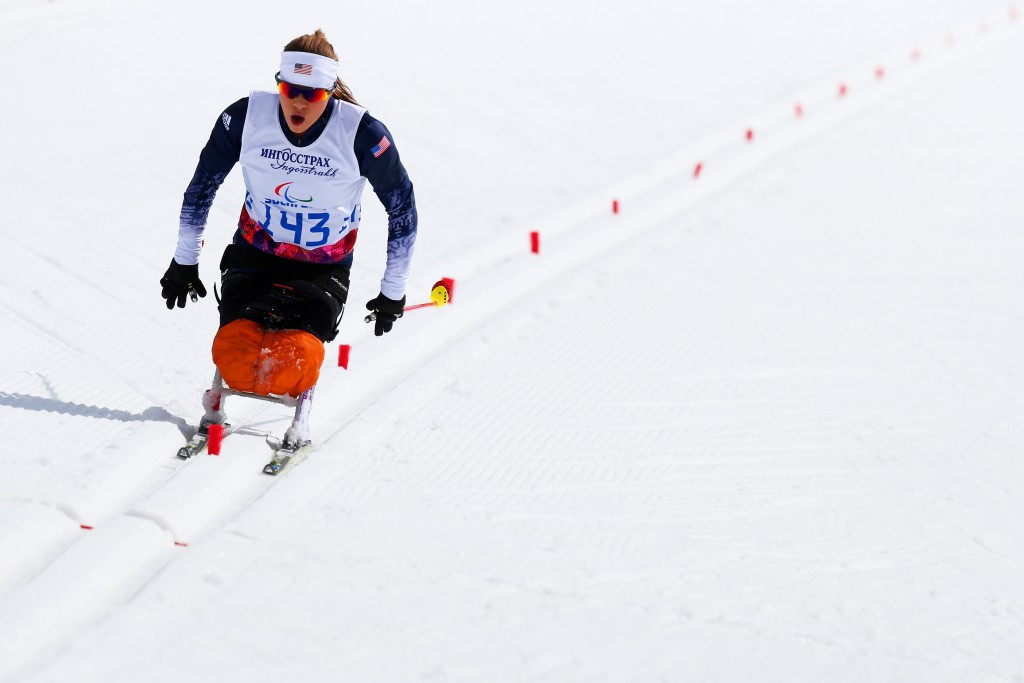 Masters claims gold at IPC Para Nordic World Cup after switching from bike to skis
