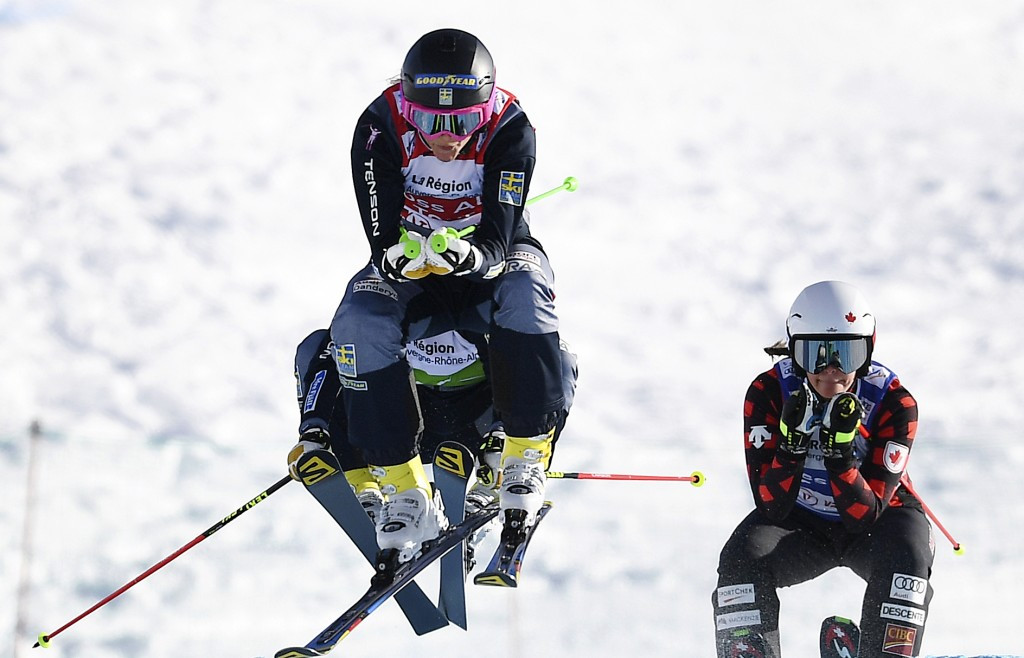 Olympic champions record season-opening victories at FIS Ski Cross World Cup