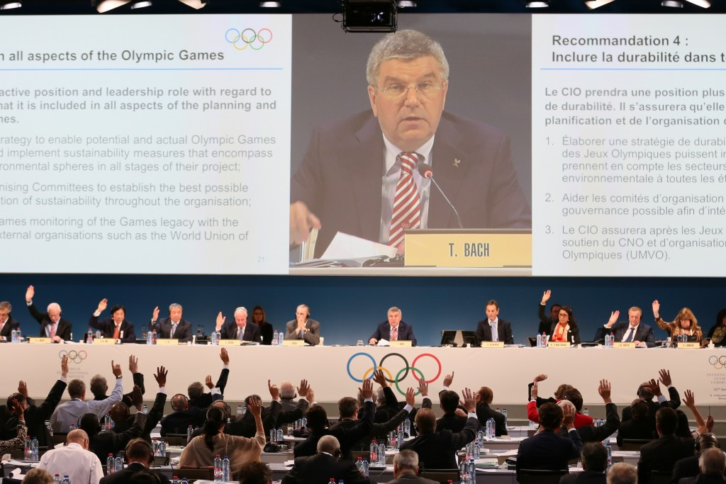 The deal is a major boost for the IOC, following a raft of other sponsorship and broadcasting deals rolled out since Thomas Bach assumed the IOC Presidency in 2013 ©Getty Images