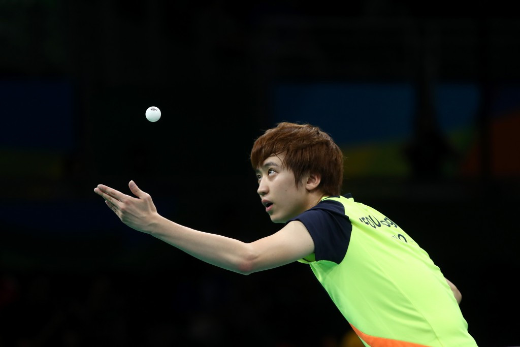 Youngsik causes upset to reach last four at ITTF World Tour Grand Finals