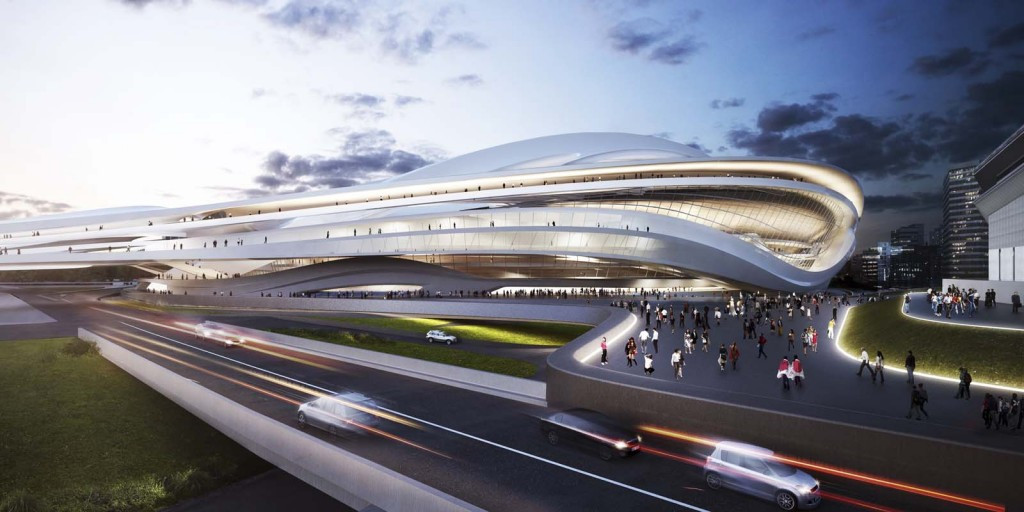 Plans to build a retractable roof on the new Zaha Hadad-designed National Stadium in Tokyo has been postponed until after the 2020 Olympics and Paralympics