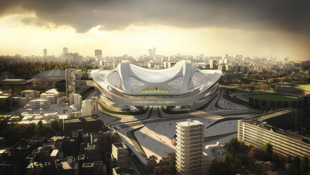 Zaha Hadid-designed Tokyo 2020 main Olympic Stadium to cost double original estimate