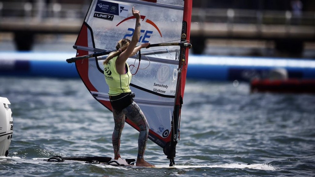 Klepacka banishes Rio 2016 heartbreak by winning gold at Sailing World Cup Final