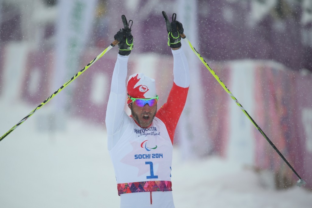 Brian McKeever has 13 Winter Paralympic medals including 10 golds for Canada in Para Nordic skiing ©Getty Images
