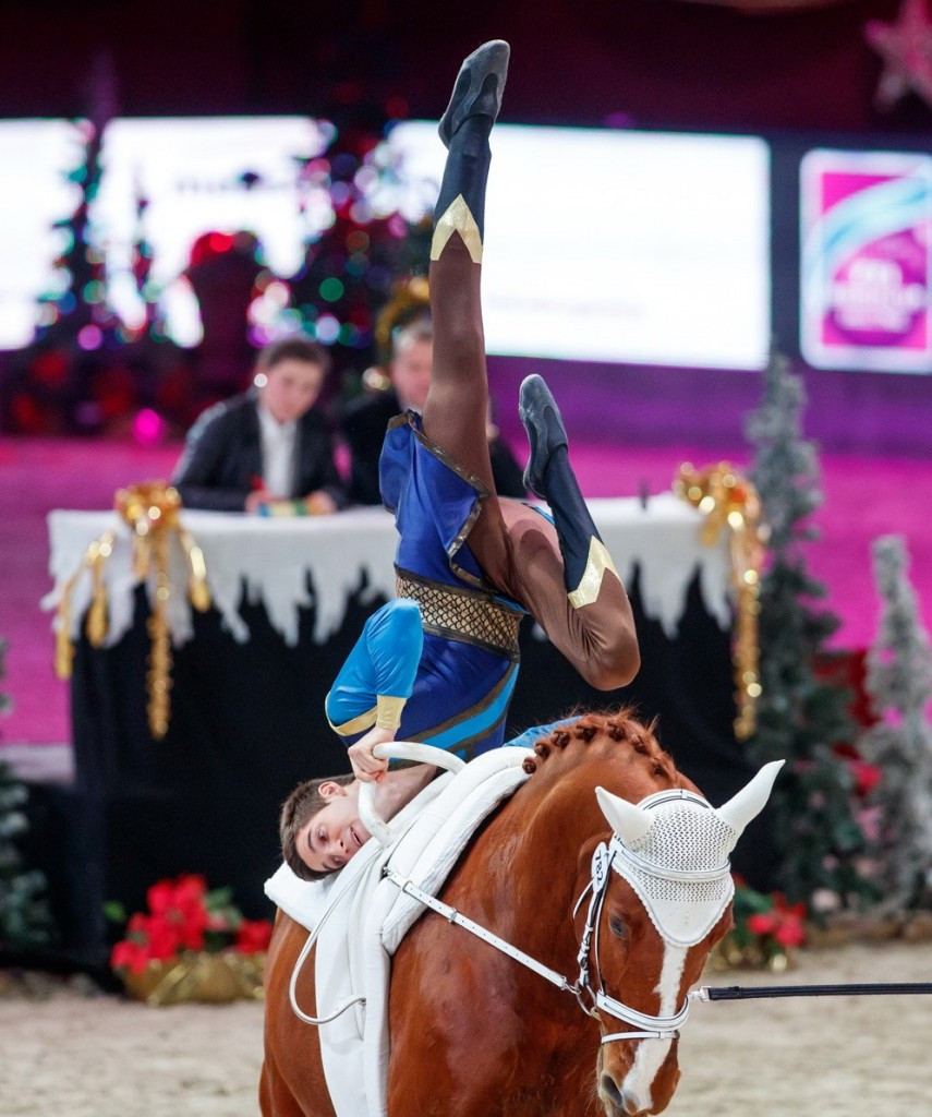 Heppler maintains good run of form with victory at FEI World Cup Vaulting event in Salzburg