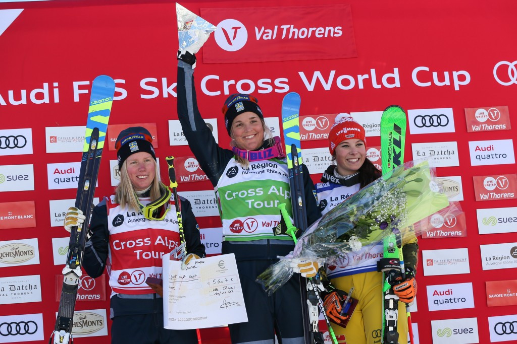 Holmlund and Naesland complete Ski Cross World Cup one-two after colliding 24 hours earlier