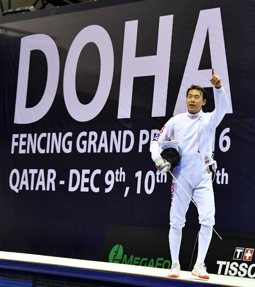 South Korea's Kweon claims men's crown at FIE Doha Épée Grand Prix