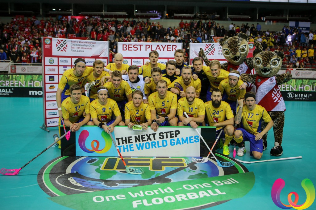 Sweden and Finland to meet in World Floorball Championships final again