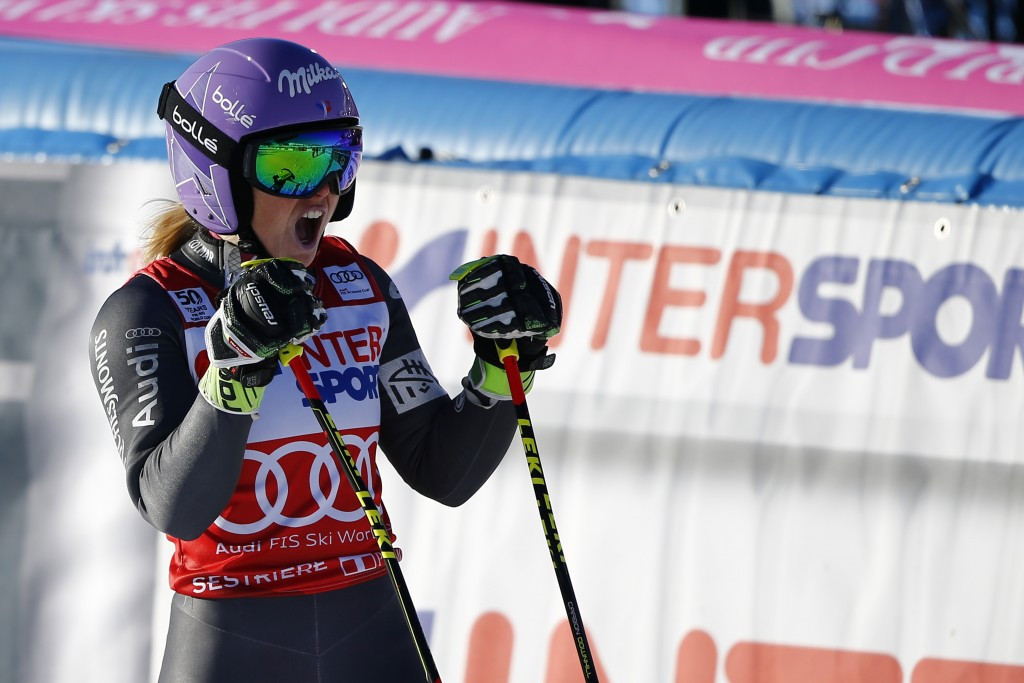 France's Worley claims second consecutive giant slalom victory with success at FIS Alpine Skiing World Cup in Sestriere