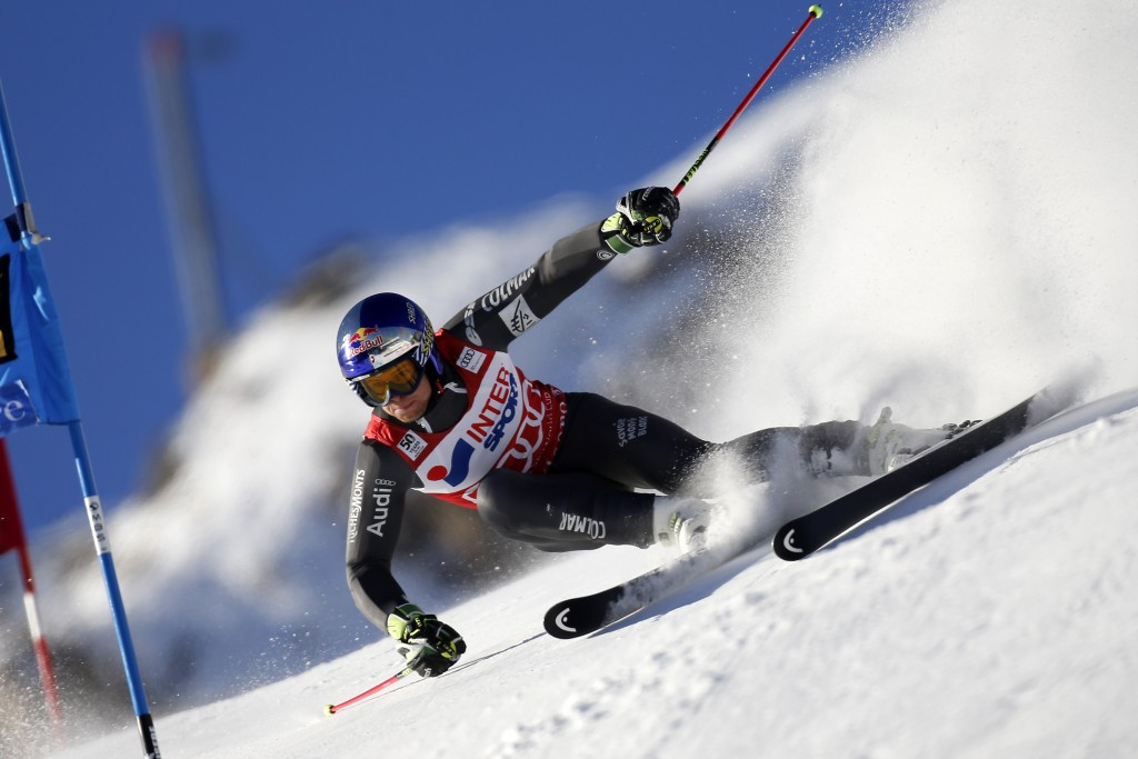Alexis Pinturault is now the most successful Frenchman in World Cup giant slalom races ©Getty Images