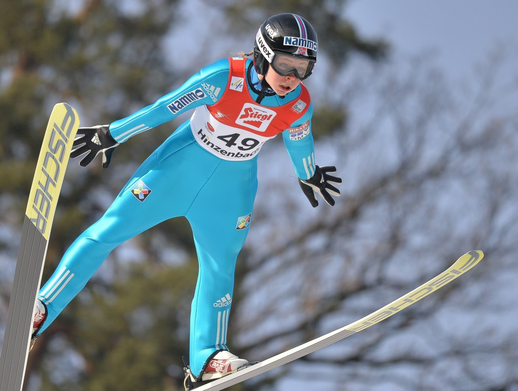 """Lundby records """"dream"""" first FIS Ski Jumping World Cup win"""